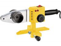 Аппарат для сварки пластиковых труб D WP-1500, 1500 Вт, 260-300 град, 6 насадок, 20-63 мм. DENZEL
