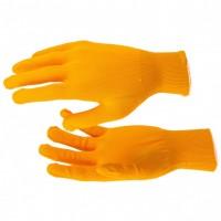 Перчатки нейлон, 13 класс, оранжевые, XL. Россия