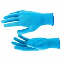 Перчатки нейлон, 13 класс, цвет ультрамарин, XL. Россия