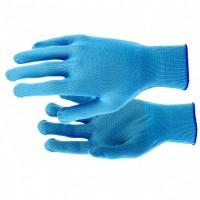 Перчатки нейлон, ПВХ точка, 13 класс, цвет ультрамарин, XL. Россия
