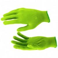 Перчатки нейлон, 13 класс, цвет изумрудный, L. Россия