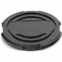 Резиновая опора для подкатного домкрата универсальная, D 100 мм, D 90, H 12 мм. MATRIX