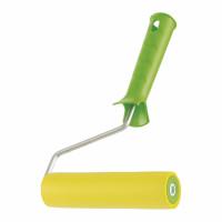 Валик прижимной резиновый с ручкой, 150 мм, D ручки 6 мм Сибртех