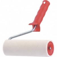 """Валик """"Велюр"""", пластмассовая ручка, 250 мм, ворс 4 мм, D 40 мм, шерсть. MATRIX. Россия"""