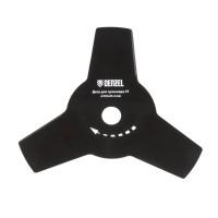 Диск для триммера, 255 х 25,4 мм, толщина 1,6 мм, 3 лезвия. DENZEL