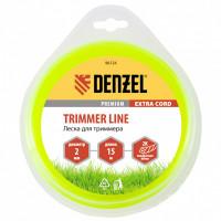 Леска для триммера, двухкомпонентная квадрат 2,0 мм, 15 м Extra cord Denzel