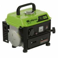 Генератор бензиновый БС-950, 0,8 кВт, 230 В, 2-х тактный, 4 л, ручной стартер Сибртех