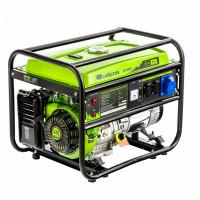 Генератор бензиновый БС-8000, 6,6 кВт, 230В, четырехтактный, 25 л, ручной стартер Сибртех