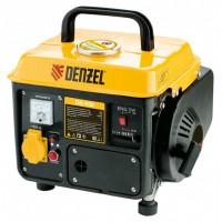 Генератор бензиновый DB950, 0,85 кВт, 220 В/50 Гц, 4 л, ручной пуск DENZEL