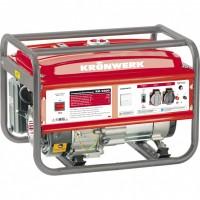 Генератор бензиновый KB 5000, 5 кВт, 220 В/50Гц, 25 л, ручной пуск. Kron Werk
