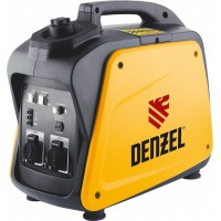 Генератор инверторный GT-2100i, X-Pro 2,1 кВт, 220 В, бак 4,1 л, ручной старт DENZEL