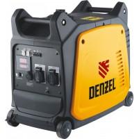 Генератор инверторный GT-2600i, X-Pro 2,6 кВт, 220 В, цифровое табло, бак 7,5 л, ручной старт DENZEL
