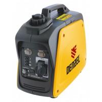 Генератор инверторный GT-950i, X-Pro, 0,9 кВт, 220 В, бак 2,1 л, ручной старт DENZEL