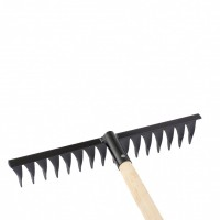 Грабли 16-зубые, 420 мм, с черенком, витые Россия Сибртех