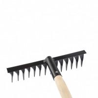 Грабли 14-зубые, 300 мм, с черенком, витые Россия Сибртех