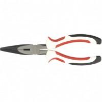 Длинногубцы прямые Premium, 180 мм, трехкомпонентные рукоятки. MATRIX