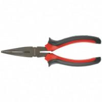 Длинногубцы прямые Black Nickel, 200 мм, двухкомпонентные рукоятки. MATRIX