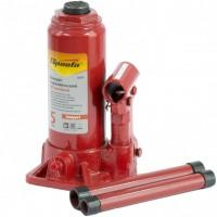 Домкрат гидравлический бутылочный 5 т, H подъема 180-340 мм. SPARTA Compact