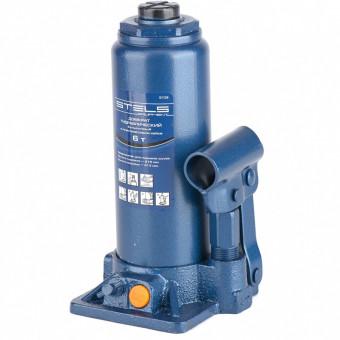 Домкрат гидравлический бутылочный, 6 т, H подъема 216-413 мм, в пластиковый кейс,е Stels