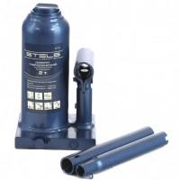 Домкрат гидравлический бутылочный телескопический, 2 т, H подъема 170-380 мм. STELS