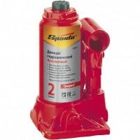 Домкрат гидравлический бутылочный 2 т, H подъема 150-280 мм. SPARTA Compact