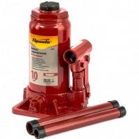 Домкрат гидравлический бутылочный 10 т, H подъема 190-370 мм. SPARTA Compact
