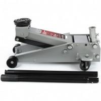 Домкрат гидравлический подкатной профессиональный, быстрый подъем, 3 т, 130-465 мм. Quick Lift. MATRIX