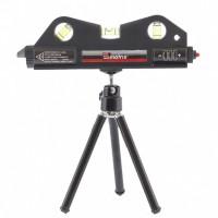 Уровень лазерный, 170 мм, 150 мм штатив, 3 глазка. MATRIX