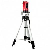 Уровень лазерный, 150 мм, штатив 1100 мм, самовырав, набор в пластиковый кейс,е. MATRIX