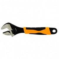 Ключ разводной, 200 мм, двухкомпонентная рукоятка. SPARTA