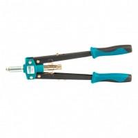 Заклепочник двуручный 420 мм, двухкомпонентные рукоятки, для заклепок 2,4-3,2-4,0-4,8. GROSS