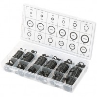 Набор резиновых уплотнительных прокладок, D 3-23 мм, 279 предметов. СИБРТЕХ