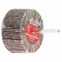 Круг лепестковый для дрели, 60 х 30 х 6 мм, Р 100. MATRIX