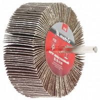 Круг лепестковый для дрели, 80 х 40 х 6 мм, P 40. MATRIX