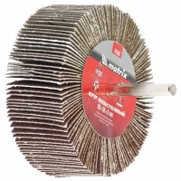 Круг лепестковый для дрели, 80 х 30 х 6 мм, P 150. MATRIX