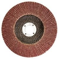 Круг лепестковый торцевой, P 100, 125 х 22,2 мм. MATRIX