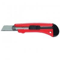 Нож, 18 мм, выдвижное лезвие, металлическая направляющая. MATRIX