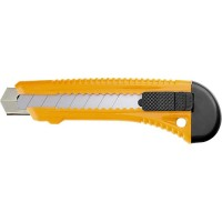 Нож, 18 мм, выдвижное лезвие, металлическая направляющая. SPARTA