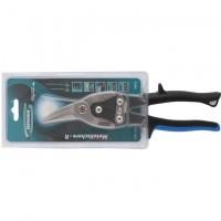 """Ножницы по металлу """"PIRANHA"""", 250 мм, прямой и правый рез, сталь СrMo, двухкомпонентные рукоятки. GROSS"""
