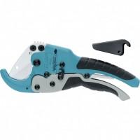 Ножницы для резки изделий из ПВХ, D до 45 мм, обрезиненные рукоятки, рабочий стол для плоских изделий. GROSS
