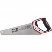 Ножовка по дереву для точных пильных работ, 350 мм, каленый зуб 3D, 14 TPI, трехкомпонентная рукоятка, PRO. MATRIX