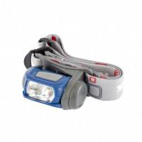Фонарь наголовный Sport, ABS пластик, CREE XP-E LED 3Вт 120Лм + 3 эко LeD, 8-18 часов, 3 х ААА. STERN