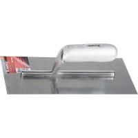 Гладилка стальная, 280 х 130 мм, зеркальная полировка, деревянная ручка. MATRIX