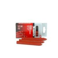 Мелки разметочные восковые красные, 120 мм, коробка 6 шт. MATRIX
