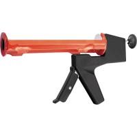"""Пистолет для герметика, 310 мл, """"полуоткрытый"""", противовес, круглый шток 8 мм. MATRIX"""