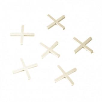 Крестики 3 мм, для кладки плитки, 100 шт Сибртех