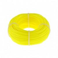Леска строительная, 100 м, D 1 мм, цвет желтый. СИБРТЕХ