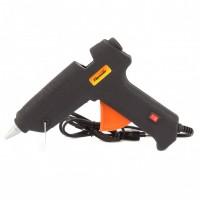 Клеевой пистолет с выключателем 12 мм в кейсе, 80 Вт, 6 г./мин. SPARTA