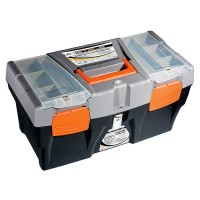 """Ящик для инструмента 24"""", 590 х 300 х 300 мм, пластик. Россия STELS"""