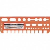 Полка для инструмента 47,5 см, оранжевая. STELS
